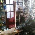 На Житомирщині загорівся магазин запчастин. ФОТО