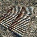 На Житомирщині піротехніки сьогодні знищили 40 артснарядів часів минулих війн