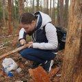 Житомирська школярка стала першим науковцем, яка вивчила ворогів короїда