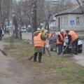 В Житомирі комунальні служби міста розпочали весняне прибирання