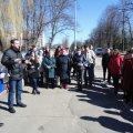 На честь Антона Малиновського у Житомирському міському парку заклали алею пам'яті