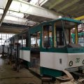 Працівники КП «Житомирське трамвайно-тролейбусне управління» розпочали ремонт трамваю
