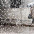 Сегодня днем, 27 марта, в Украине пройдет дождь и мокрый снег