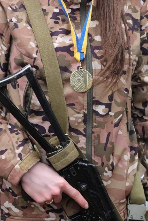 Сьогодні бійці 30 ОМБр ім. князя Костянтина Острозького брали участь в змаганнях з воєнізованого кросу