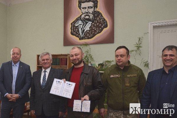 В Озерному 27 військовослужбовців отримали документи про здобуття цивільної спеціальності