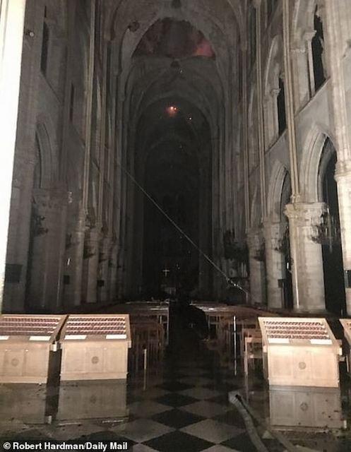 Нотр-Дам де Пари потушили: как собор Парижской Богоматери выглядит после пожара. ФОТО