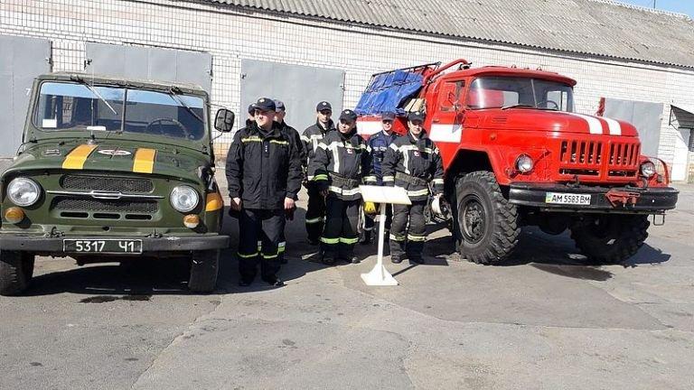 У Баранівці лісівники та бійці ДСНС вчаться ліквідовувати пожежі