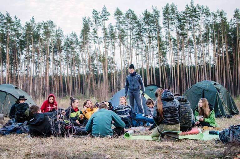 На Житомирщині пройшли Всеукраїнські змагання з пішого мандрівництва