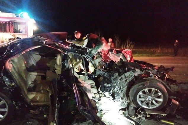 На Коростенщині рятувальники деблокували постраждалого чоловіка з понівеченого автомобіля