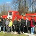 Білокоровицькі лісівники вчили дітей правильній поведінці в пожежонебезпечний період в лісі