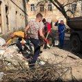 У Житомирі триває весняне прибирання