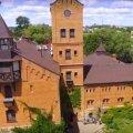Чарівний замок в Радомишлі з висоти пташиного польоту. ВІДЕО
