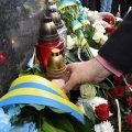 У Житомирі вшанували жертв Катинського злочину і авіакатастрофи під Смоленськом