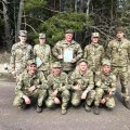 На змаганнях з воєнізованого кросу військовослужбовці Новоград-Волинського гарнізону увійшли в трійку кращих