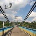 В Житомирі жінка мало не вкоротила собі життя стрибнувши з мосту. ВІДЕО