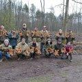 На Житомирщині студентська молодь висаджувала ліс
