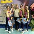 Житомирські спортсменки посіли призові місця на Чемпіонаті України зі спортивної аеробіки серед студентів