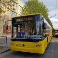 В Житомирі на лінію після середнього ремонту вийшов тролейбус №2072
