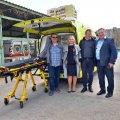 В Житомирі «Центр екстреної медичної допомоги та медицини катастроф» отримав від благодійників автомобіль швидкої медичної допомоги