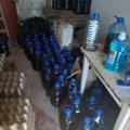 На Житомирщині поліцейські вилучили майже 2 тонни фальсифікату алкоголю. ФОТО
