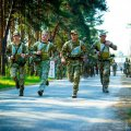 Команда 95 окремої десантно-штурмової бригади стала переможцями на чемпіонаті ДШВ з воєнізованого кросу