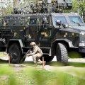Житомирські десантники разом із поліцейськими, вогнеборцями та органами місцевого самоврядування провели показові заняття
