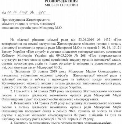 Марія Місюрова більше не начальник управління охорони здоров'я