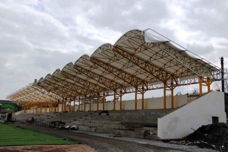 У Житомирі активно триває комплексна реконструкція стадіону «Спартак»