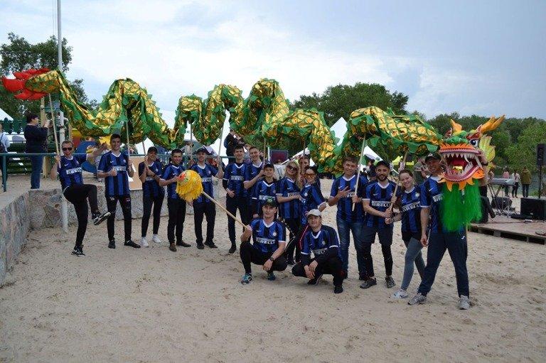 Житомирська команда взяла участь у Всеукраїнських змаганнях з веслування на човнах «Дракон»
