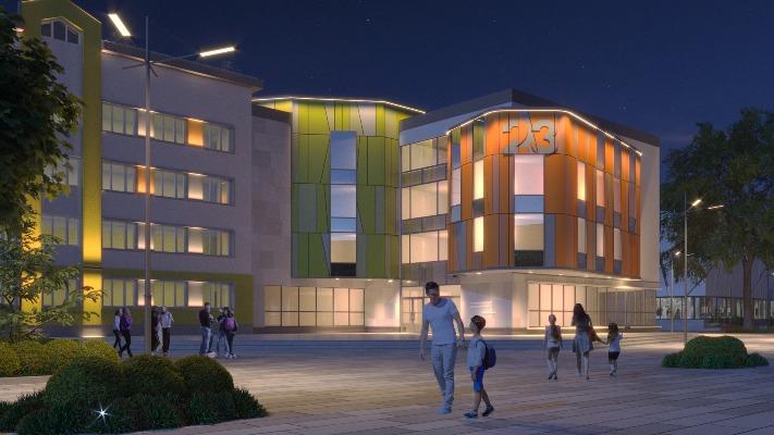 Як виглядає проект реконструкції будівлі Житомирської гімназії №23. ФОТО