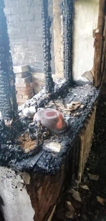 Під час пожежі в Бердичеві врятували літнього чоловіка