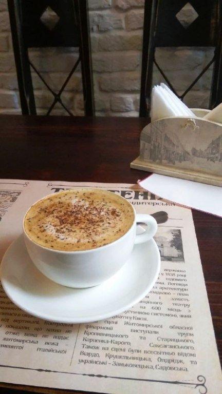 """Затишне місце, де господиня принесе вам кави та розповість про Житомир: Кав'ярня-кондитерська """"Теретенія"""". ФОТО"""