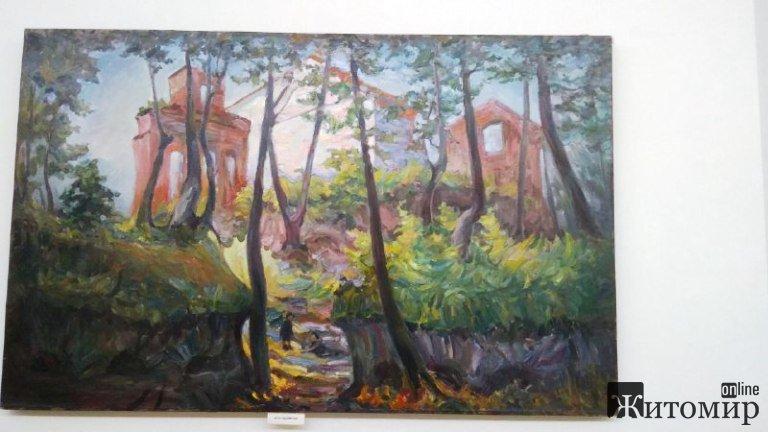 Житомирський художник: про легенди, творчість та розвиток міста. ФОТО