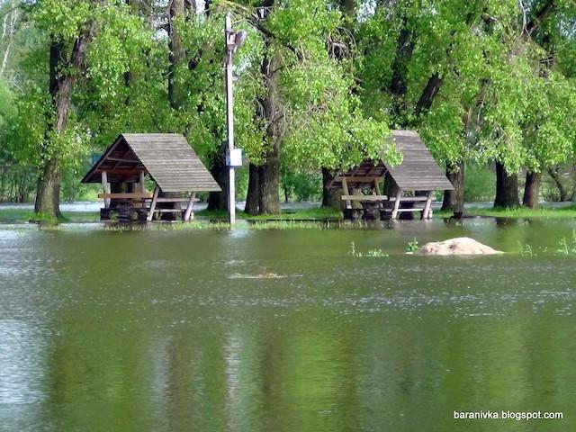 Через негоду села на Баранівщині перетворилися на Венецію. ФОТО