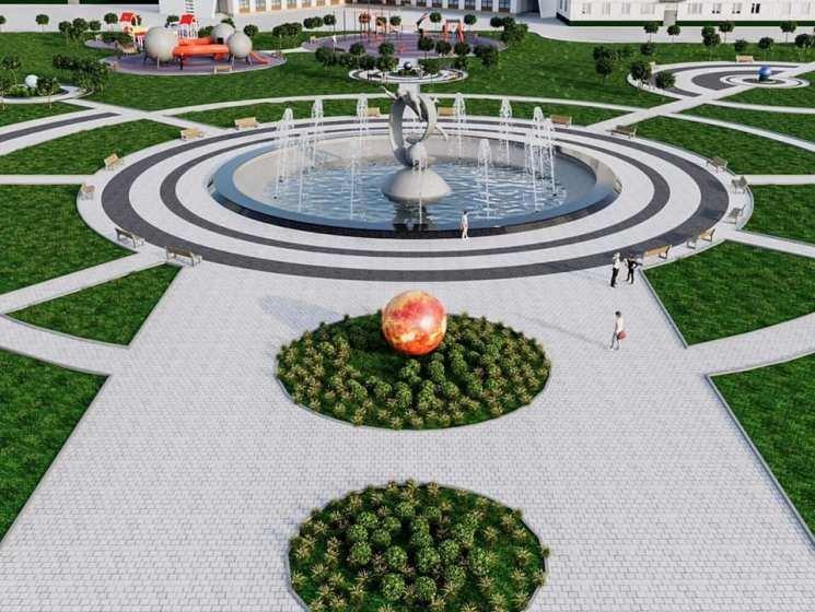 Житомирянам показали, як може виклядати сквер на Польовій. ФОТО