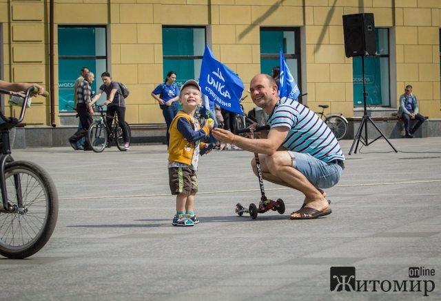 Велодень у Житомирі. Знайди себе на ФОТО