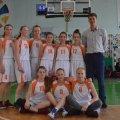 Житомирянки фінішували п'ятими у Всеукраїнській юнацькій баскетбольній лізі