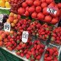 Найкращі полуниці на Житньому ринку у Житомирі – Херсонські. ФОТО