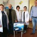 Віктор Развадовський привітав працівників Березівської АЗПСМ з Міжнародним днем медсестри