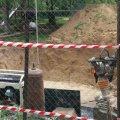 На Малікова розпочалось будівництво фонтану. ФОТО