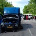 На Вінниччині позашляховик врізався у маршрутний автобус «Житомир – Ружин»