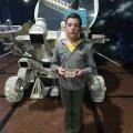 Житомирський школяр передав в музей космонавтики колекцію значків