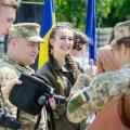 Радниця з гендерних питань президента Зеленського під час GENDER MONTH в Житомирі звернула увагу на присутніх військових жінок