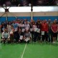 У Житомирі відбувся відкритий міський турнір з бадмінтону серед аматорів