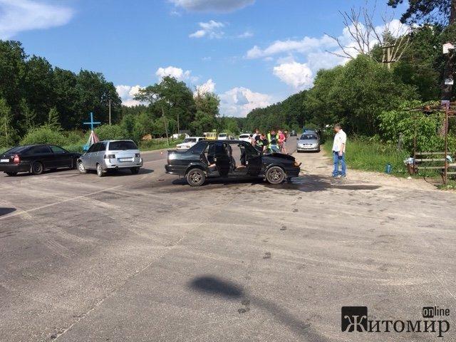 Під Житомиром трапилась аварія. ФОТО