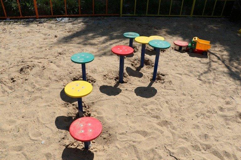 На Малікова облаштовується дитячий майданчик «Моя дитяча мрія»