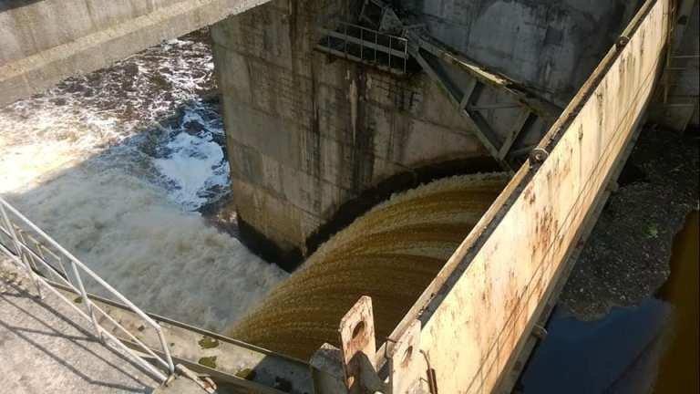 Жахливий стан води у річці Тетерів. ФОТО