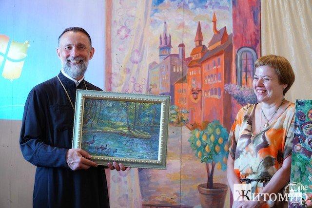 """У Житомирі працюватиме """"Арт-село"""" на базі дитячої духовної недільної школи"""