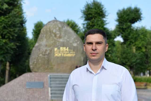 Кандидат у народні депутати Борис Ткаченко привітав житомирян