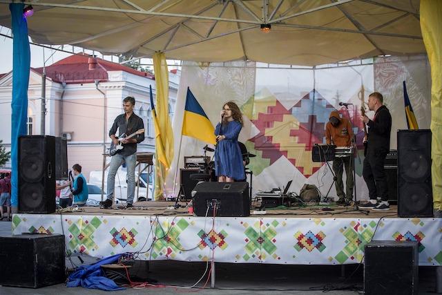Як Житомир святкував День Конституції. ФОТО